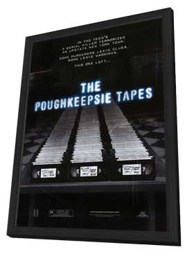 The Poughkeepsie Tapes - 27 x 40 Movie Poster - Style A - in Deluxe Wood Frame