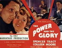 The Power and the Glory - 11 x 14 Movie Poster - Style A