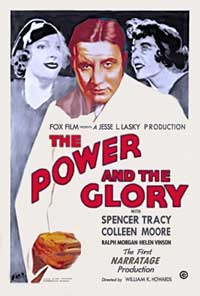 The Power and the Glory - 11 x 14 Movie Poster - Style B