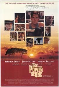 The Power of One - 43 x 62 Movie Poster - Bus Shelter Style A