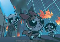 The Powerpuff Girls - 8 x 10 Color Photo #17