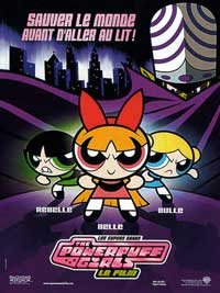 The Powerpuff Girls - 11 x 17 Movie Poster - French Style A