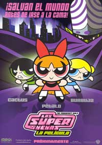 The Powerpuff Girls - 11 x 17 Movie Poster - Spanish Style A