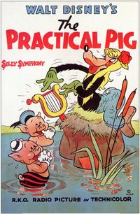 The Practical Pig - 11 x 17 Movie Poster - Style B