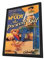 The Prescott Kid - 27 x 40 Movie Poster - Style A - in Deluxe Wood Frame