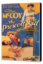 The Prescott Kid - 27 x 40 Movie Poster - Style A - Museum Wrapped Canvas