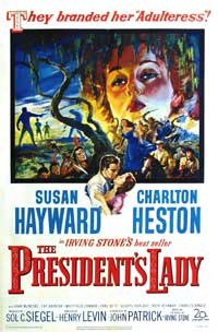 The President's Lady - 11 x 17 Movie Poster - Style A