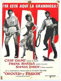 The Pride and the Passion - 27 x 40 Movie Poster - Spanish Style A