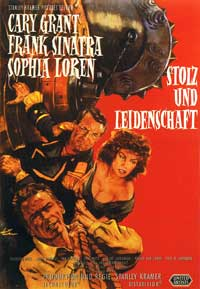 The Pride and the Passion - 11 x 17 Movie Poster - German Style A