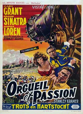 The Pride and the Passion - 27 x 40 Movie Poster - Belgian Style A