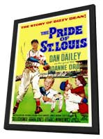 Pride of St. Louis - 11 x 17 Movie Poster - Style A - in Deluxe Wood Frame