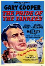 The Pride of the Yankees - 27 x 40 Movie Poster - Style A