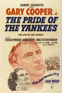 The Pride of the Yankees - 43 x 62 Movie Poster - Bus Shelter Style B