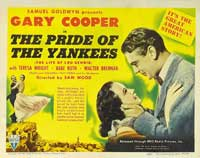 The Pride of the Yankees - 11 x 14 Movie Poster - Style B