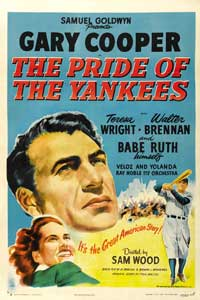 The Pride of the Yankees - 11 x 14 Movie Poster - Style F