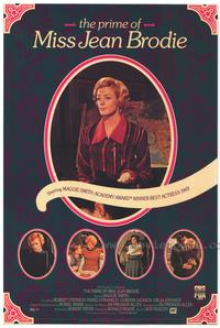 The Prime of Miss Jean Brodie - 27 x 40 Movie Poster - Style B