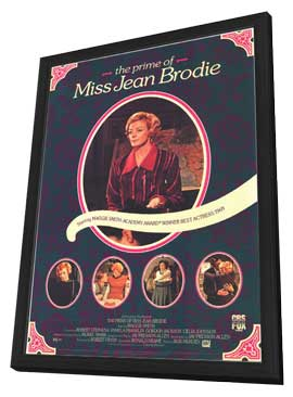 The Prime of Miss Jean Brodie - 11 x 17 Movie Poster - Style B - in Deluxe Wood Frame