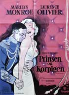 The Prince and the Showgirl - 27 x 40 Movie Poster - Danish Style A