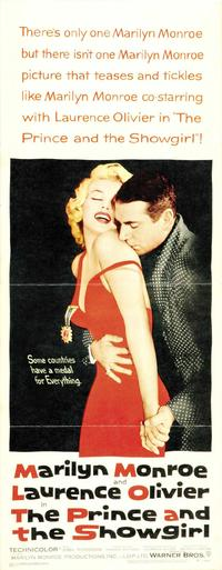 The Prince and the Showgirl - 14 x 36 Movie Poster - Insert Style A