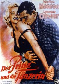 The Prince and the Showgirl - 11 x 17 Movie Poster - German Style D