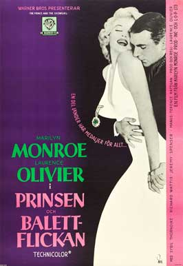 The Prince and the Showgirl - 27 x 40 Movie Poster - Swedish Style A
