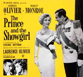 The Prince and the Showgirl - 30 x 30 Movie Poster - Style A