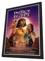 Prince of Egypt - 27 x 40 Movie Poster - Style B - in Deluxe Wood Frame