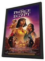Prince of Egypt - 11 x 17 Movie Poster - Style B - in Deluxe Wood Frame
