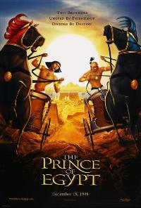 Prince of Egypt - 27 x 40 Movie Poster - Style D