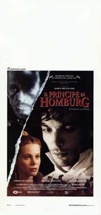 The Prince of Homburg - 13 x 28 Movie Poster - Italian Style A