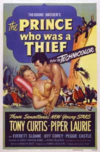 The Prince Who Was a Thief - 27 x 40 Movie Poster - Style A