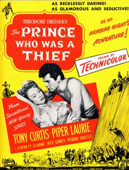 The Prince Who Was a Thief - 27 x 40 Movie Poster - Style B