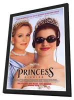 The Princess Diaries - 27 x 40 Movie Poster - Style A - in Deluxe Wood Frame
