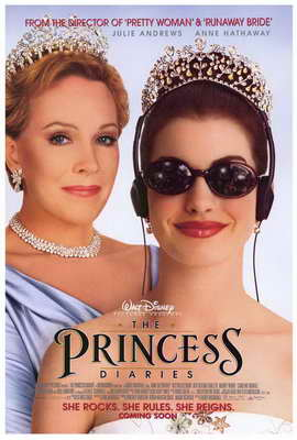The Princess Diaries - 27 x 40 Movie Poster - Style A