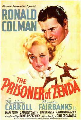 Prisoner of Zenda - 11 x 17 Movie Poster - Style A