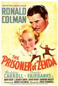 Prisoner of Zenda - 27 x 40 Movie Poster - Style A