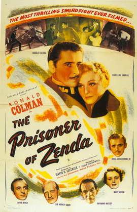 Prisoner of Zenda - 11 x 17 Movie Poster - Style B