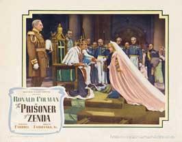 Prisoner of Zenda - 11 x 14 Movie Poster - Style A