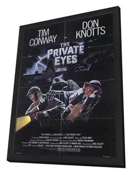 The Private Eyes - 11 x 17 Movie Poster - Style A - in Deluxe Wood Frame
