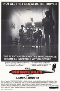 The Private Files of J. Edgar Hoover - 11 x 17 Movie Poster - Style A