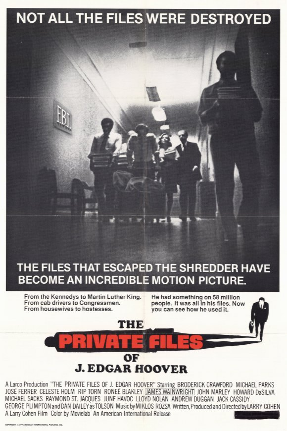 The Private Files of J. Edgar Hoover Movie Posters From ...