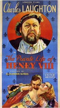 The Private Life of Henry VIII - 43 x 62 Movie Poster - Bus Shelter Style A