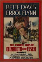 The Private Lives of Elizabeth & Essex - 11 x 17 Movie Poster - Style E