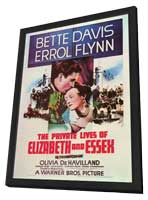 The Private Lives of Elizabeth & Essex - 11 x 17 Movie Poster - Style A - in Deluxe Wood Frame