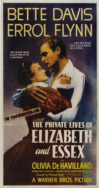 The Private Lives of Elizabeth & Essex - 11 x 17 Movie Poster - Style D