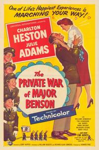 The Private War of Major Benson - 43 x 62 Movie Poster - Bus Shelter Style A