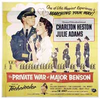 The Private War of Major Benson - 30 x 30 Movie Poster - Style A