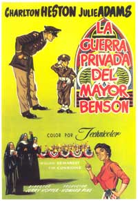 The Private War of Major Benson - 11 x 17 Movie Poster - Spanish Style A