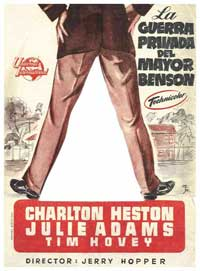 The Private War of Major Benson - 11 x 17 Movie Poster - Spanish Style B