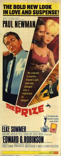 The Prize - 14 x 36 Movie Poster - Insert Style A
